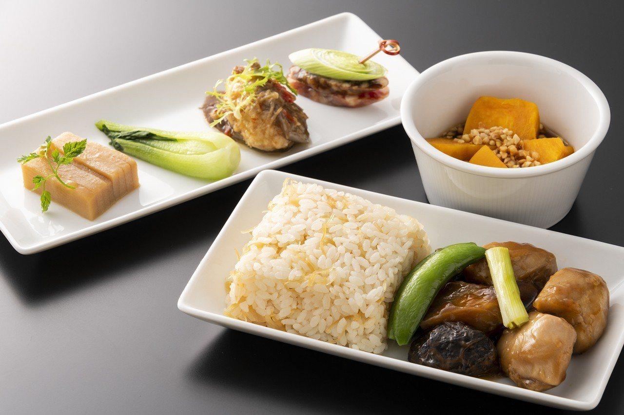 十月份「晶華軒.經典川粵料理」」機上套餐。圖/台北晶華酒店提供