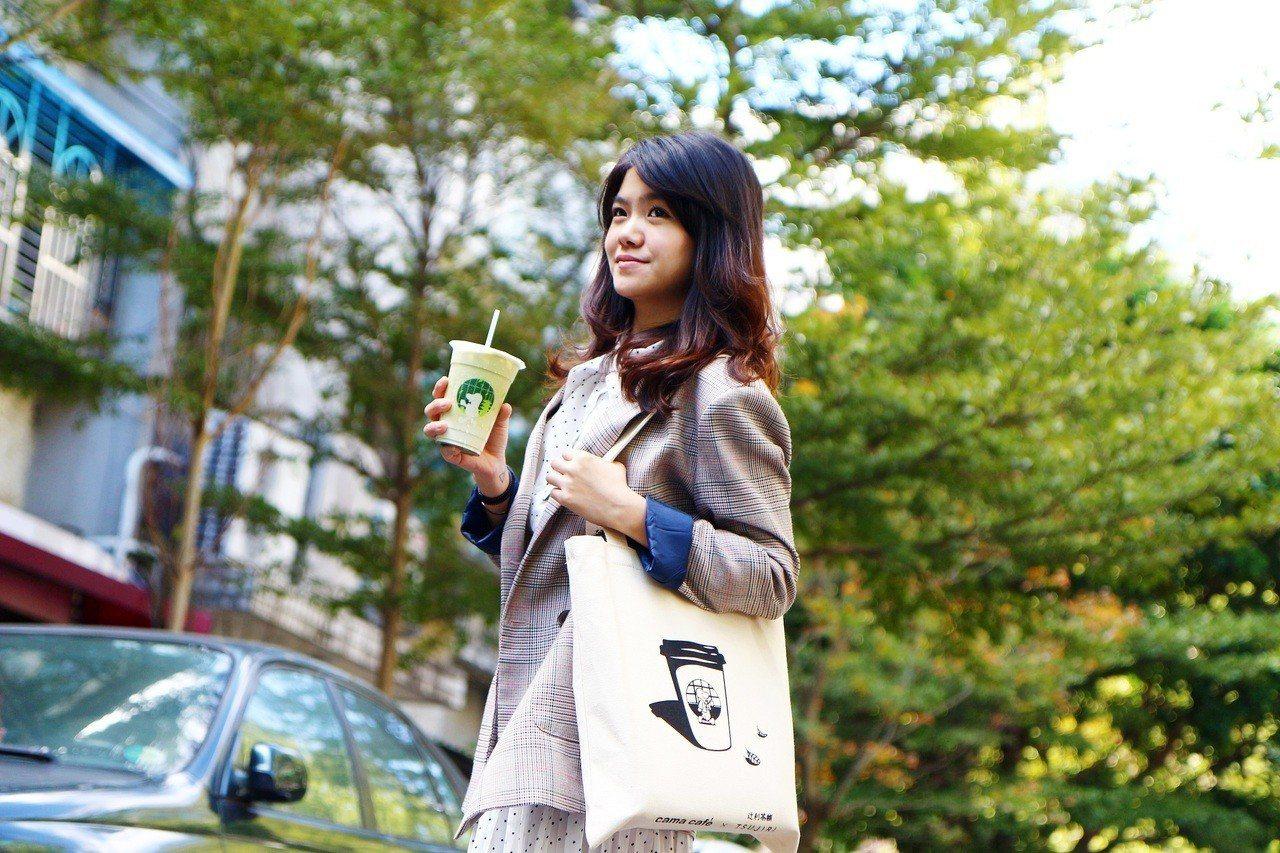 cama café推出38婦女節女性購買第2杯38折。圖/cama café提供