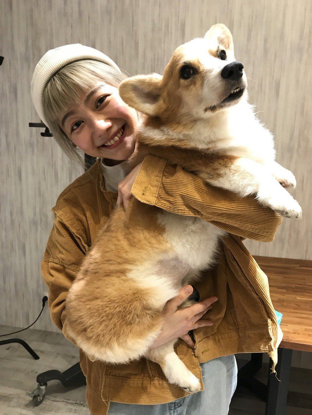 邵庭跟她的狗兒子相處的時間越來越少,已經在倒數計時。記者葉君遠攝影