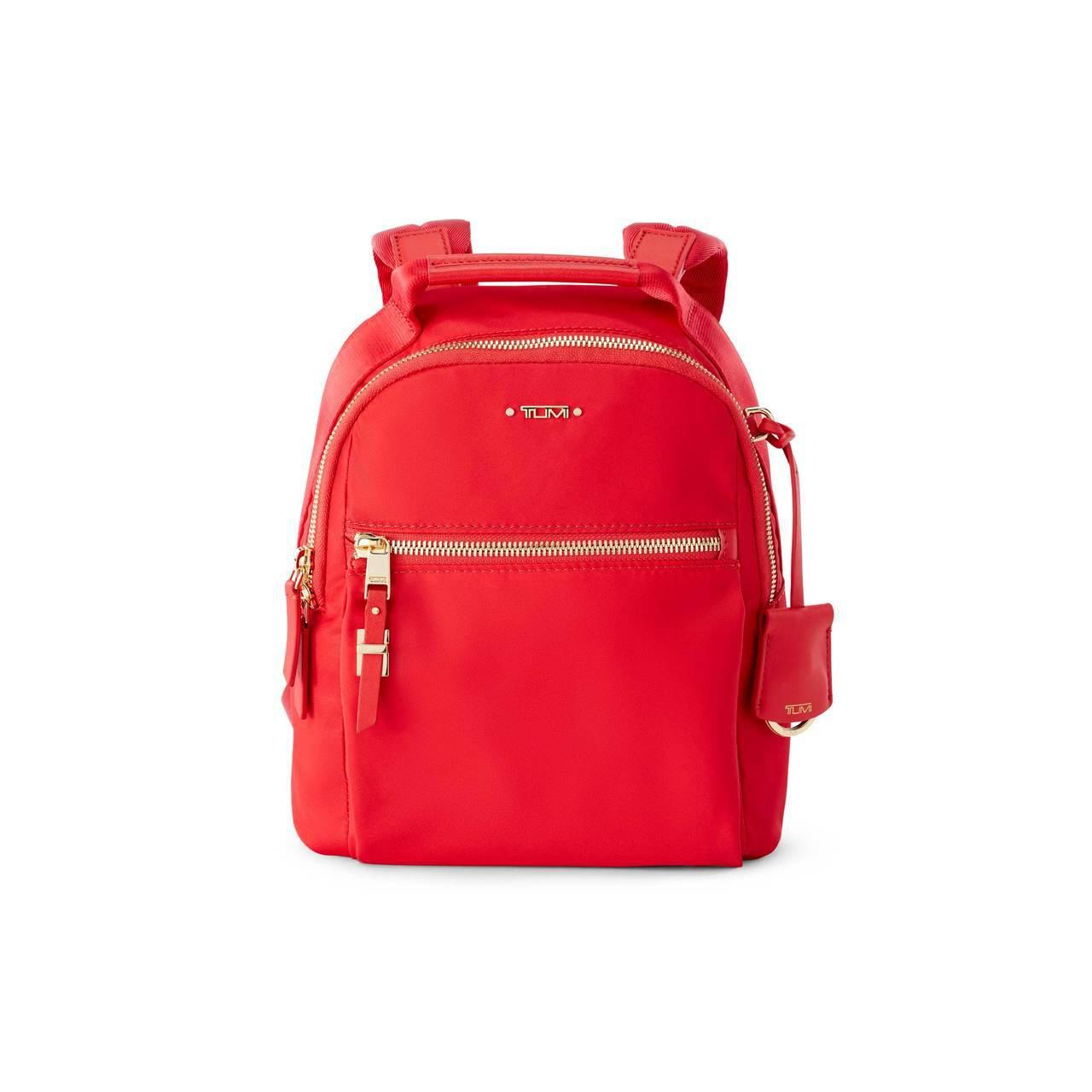 VOYAGEUR系列夕陽紅Witney後背包,13,500元。圖/TUMI提供