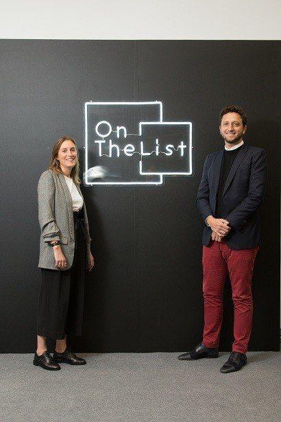 OnTheList創辦人_Delphine Dultzin(左)、Diego D...