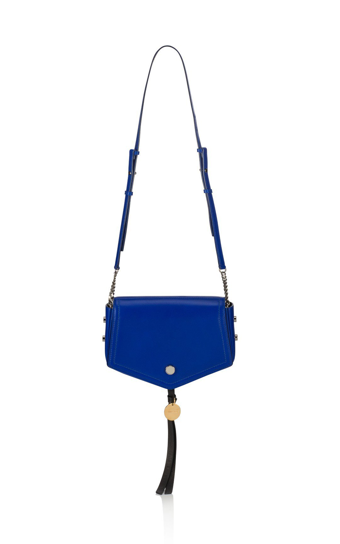 OnTheList特賣會上JIMMY CHOO的ARROW藍色流蘇揹袋,原價40...
