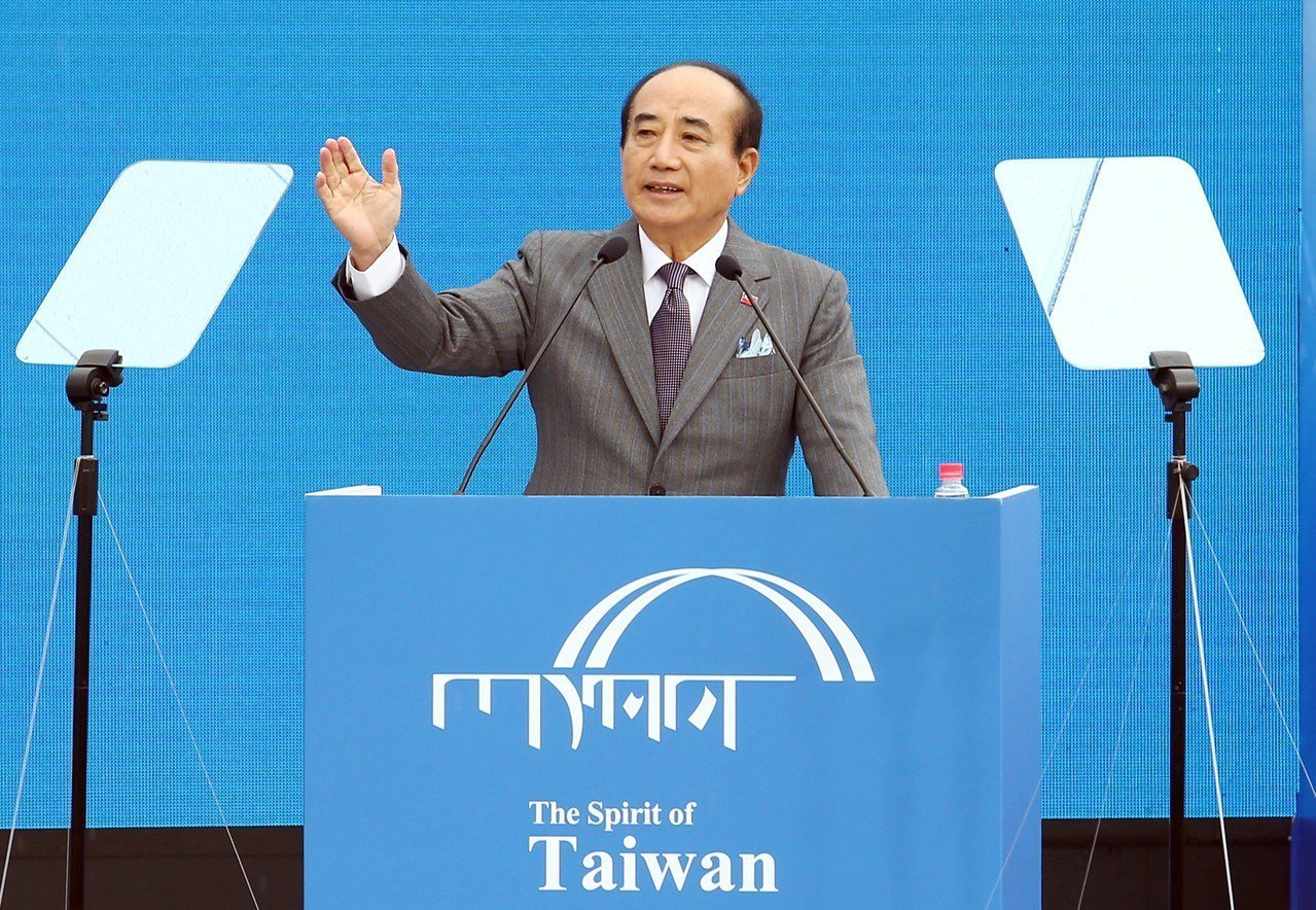 國民黨立委王金平今宣布參選總統。記者杜建重/攝影