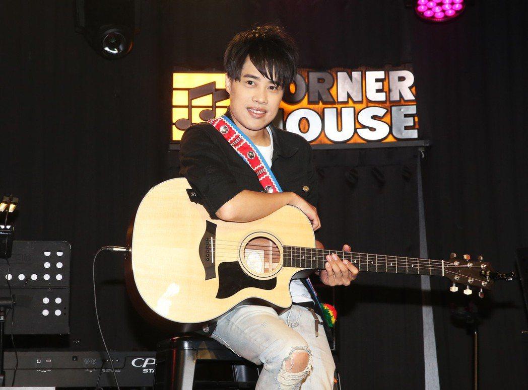 「TANK」呂建忠為台北場演唱會進行彩排。記者徐兆玄/攝影