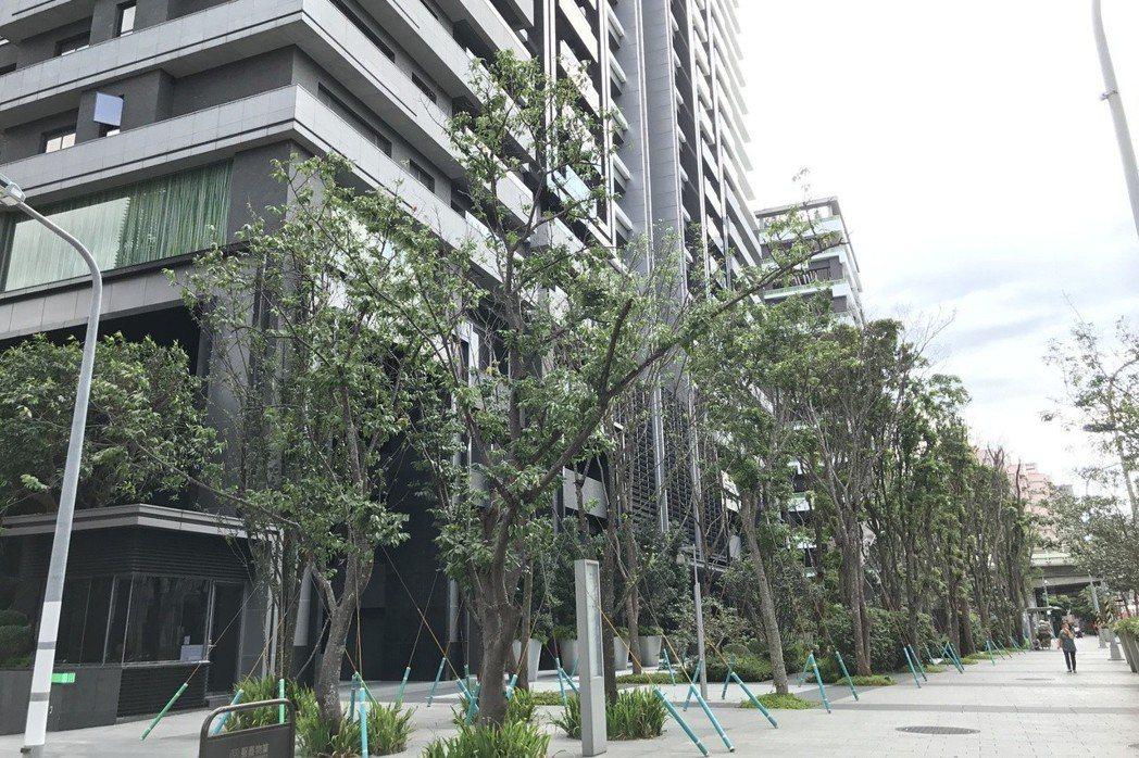北市大安區都更豪宅「明日博」。 報系資料照