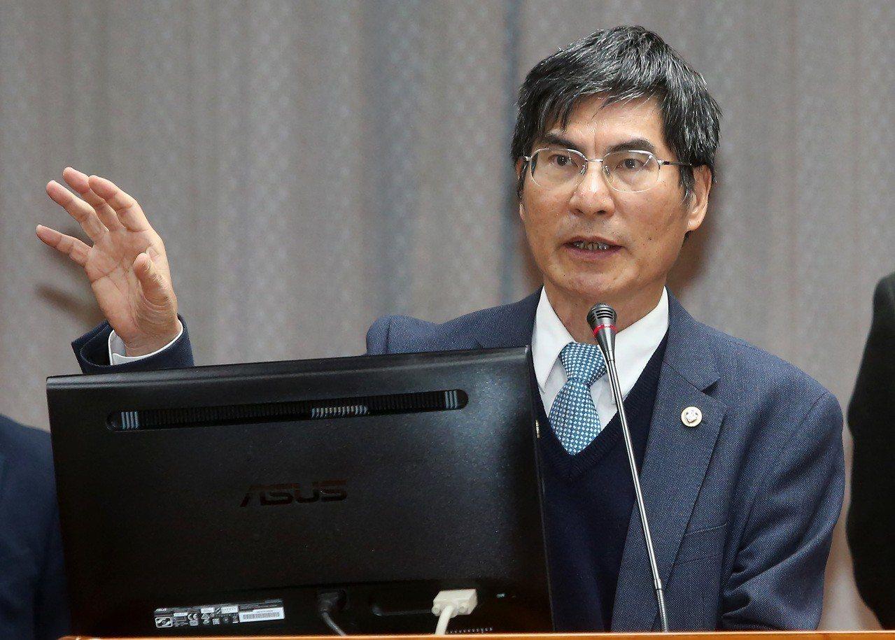 科技部長陳良基。 聯合報系資料照/記者胡經周攝影