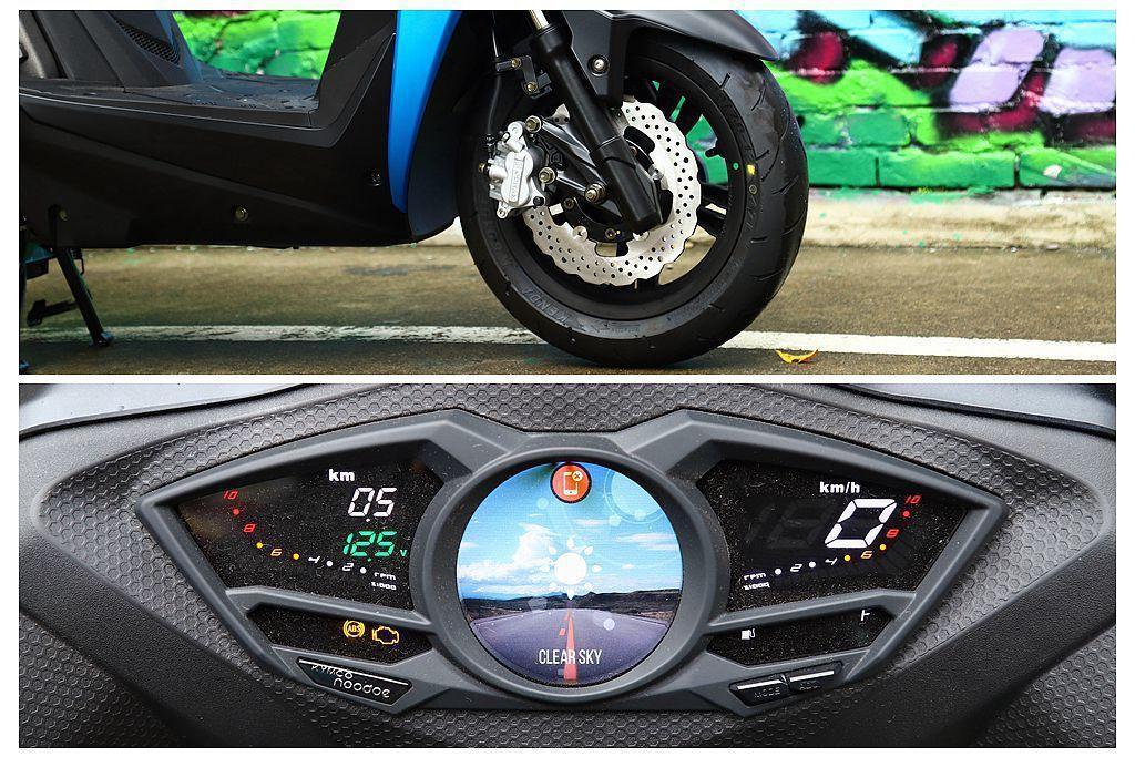 從板橋到台中買雞排的未知路況,KYMCO Racing S有BOSCH ABS前...