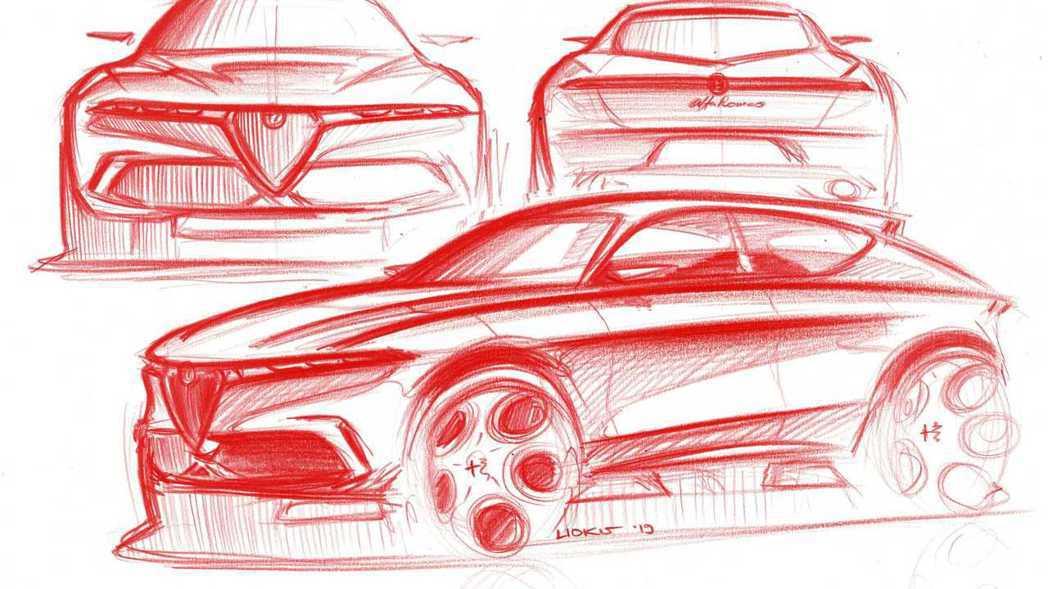 Alfa Romeo全新入門車款以小型休旅的可能性最大,但也有外媒推測是五門掀背...