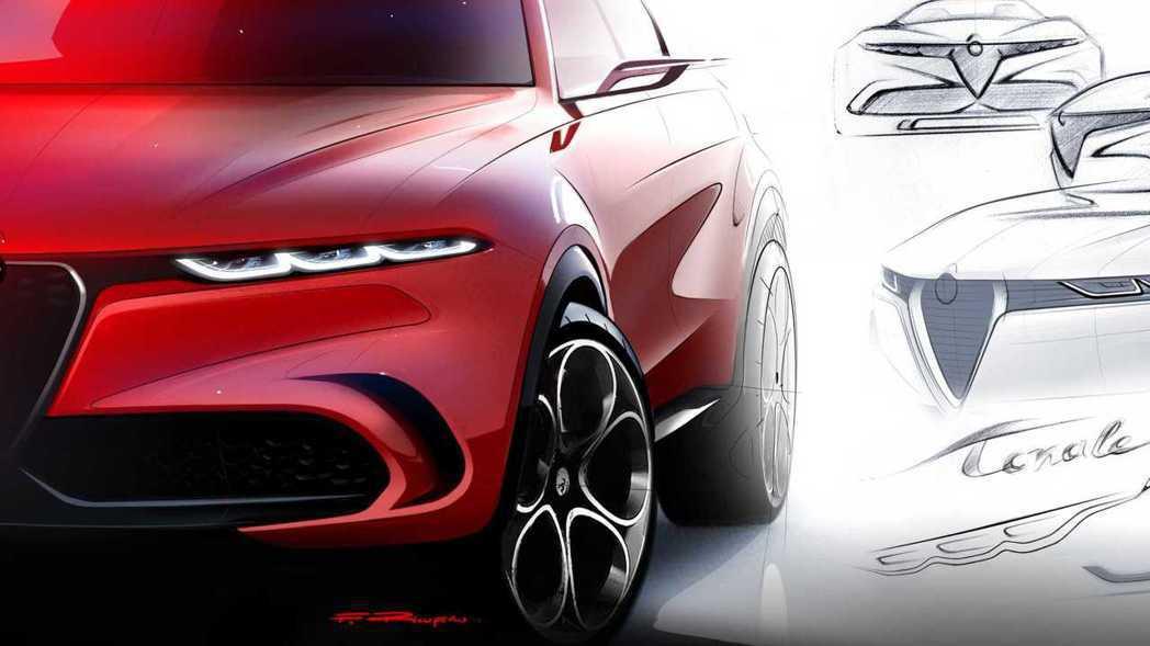 Alfa Romeo在日內瓦車展上推出了全新概念休旅Tonale Concept...
