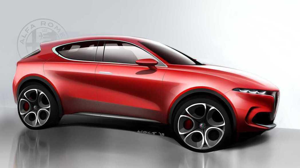Alfa Romeo Tonale Concept象徵品牌的第二款休旅雛形。 摘...