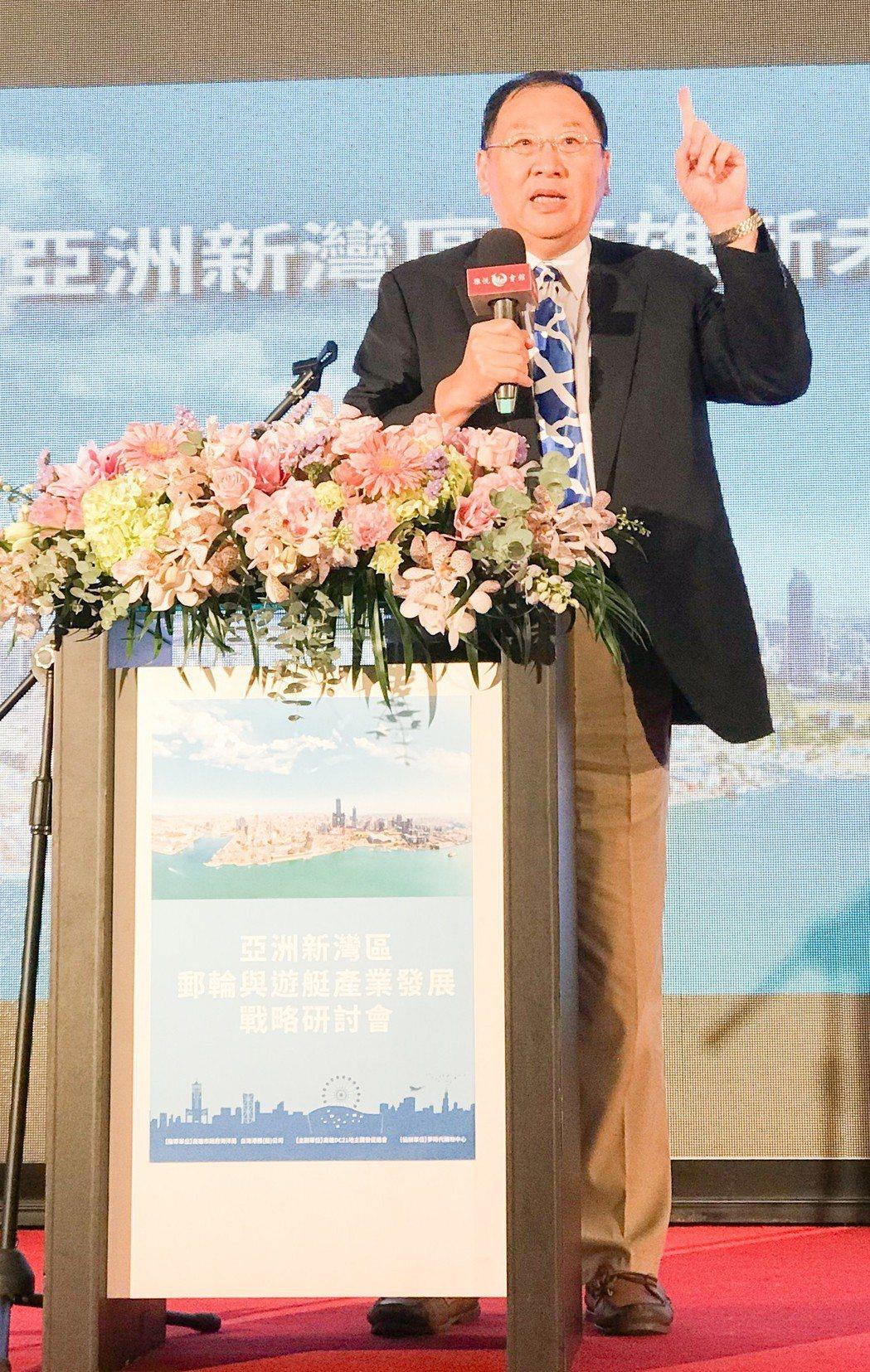 高雄市政府海洋局長趙紹廉說,市府一定會以海洋城市的胸襟,盡力營造友善國際郵輪旅客...