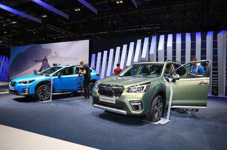 2019日內瓦車展/Subaru正式推出歐規eBOXER輕油電車型取代柴油引擎