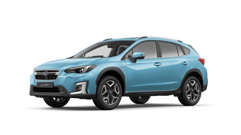 Subaru XV eBOXER。 摘自Subaru