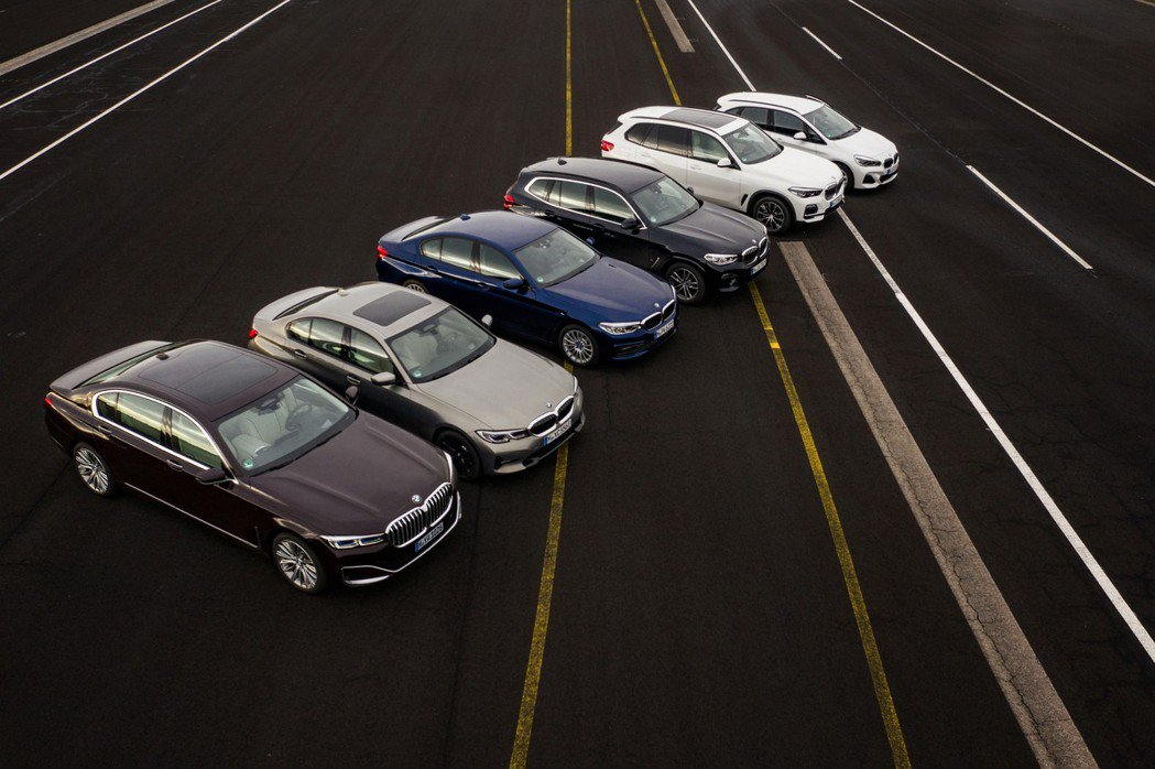BMW計畫在2025年前推出25款全新電動車。 摘自BMW
