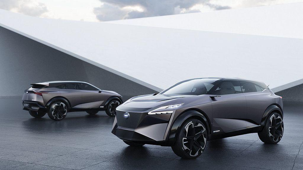 剛開幕的瑞士日內瓦車展開幕,日本Nissan汽車發表IMQ Concept跨界概...