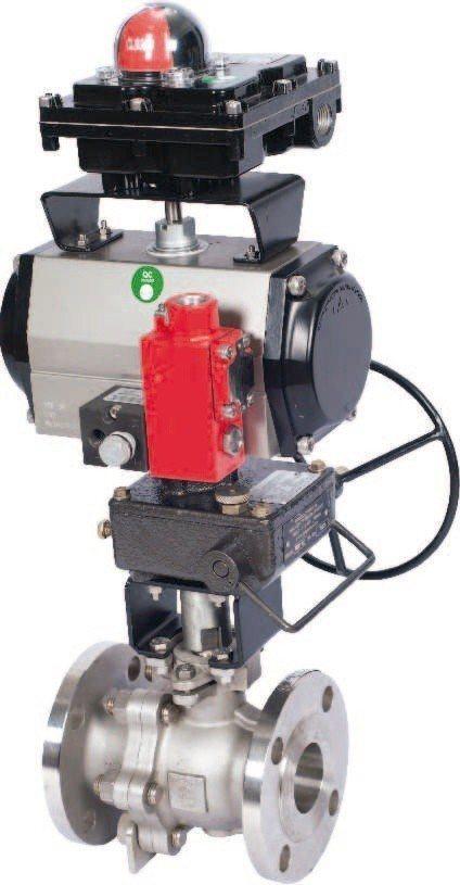 千涵國際3/29高雄化工展發表ROTEX氣動閥。千涵國際/提供