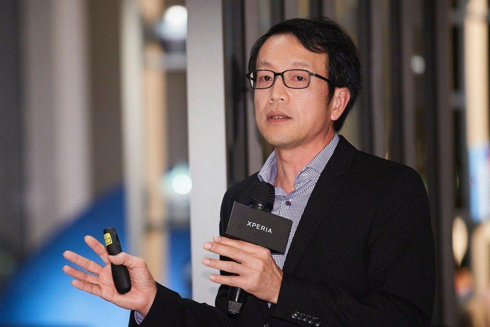 Sony Mobile台灣總經理林志遠