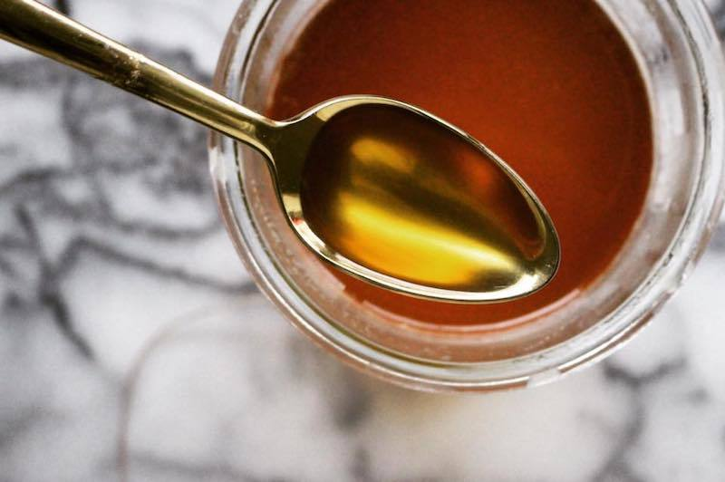 剛做好的液態酥油