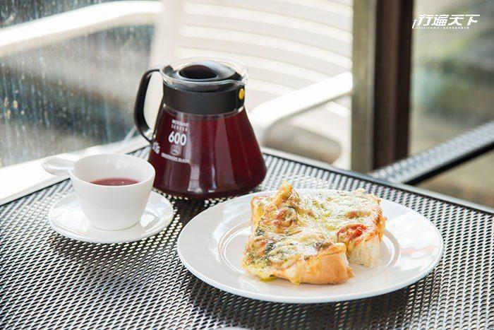 瑪格莉特厚片使用新鮮番茄、起士及自製青醬,十分美味可口。