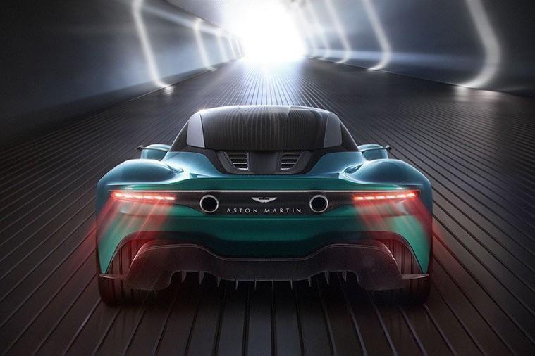 Aston Martin Vanquish Vision概念車終於現身!Ferrari F8 Tributo小心了!