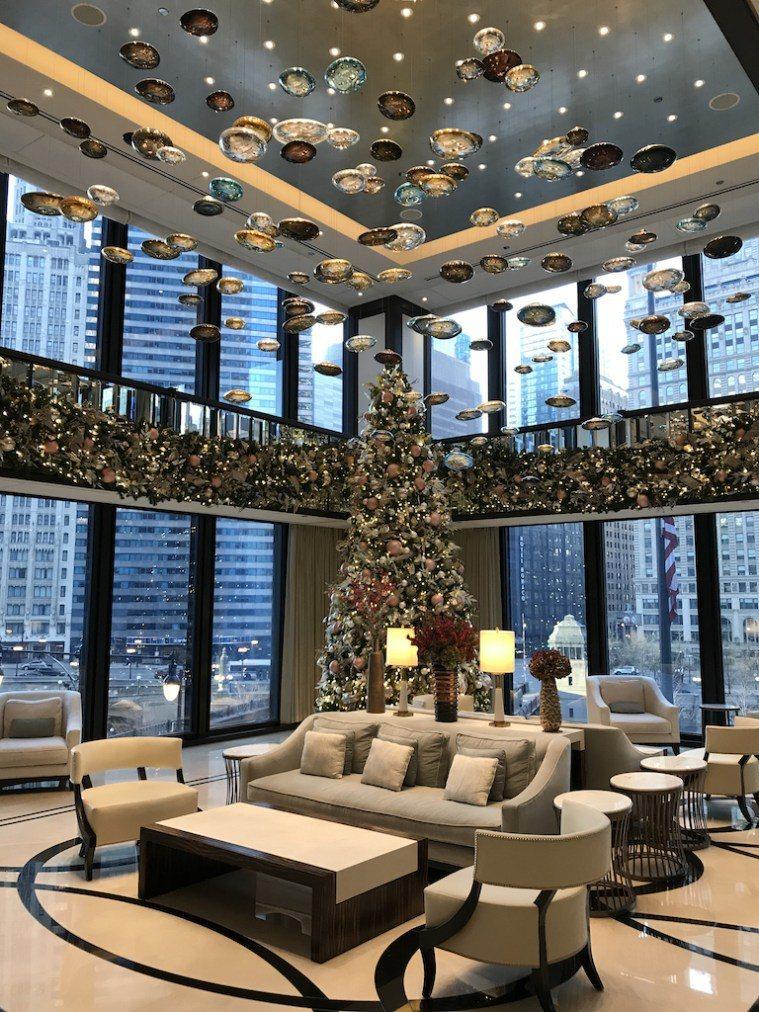 入住時適逢耶誕節,所以整個酒店都裝飾的很有過節氣氛 圖文來自於:TripPlus
