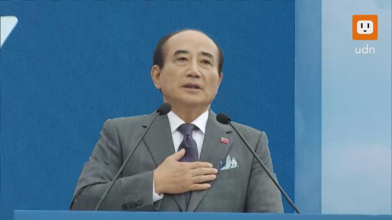 國民黨立委王金平今天上午宣布參選2020年中華民國總統。記者莊昭文/攝影