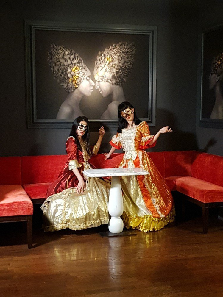 福里安花神3月9日至3月24日推出威尼斯面具嘉年華。圖/新光三越提供