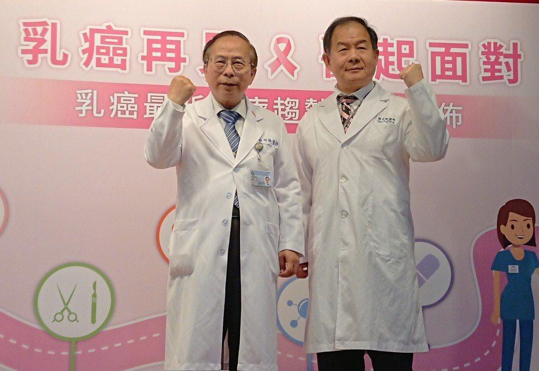 高醫發表乳癌晚期患者生活品質調查,發現有1成會因治療副作用放棄、尋求非西醫管道,...