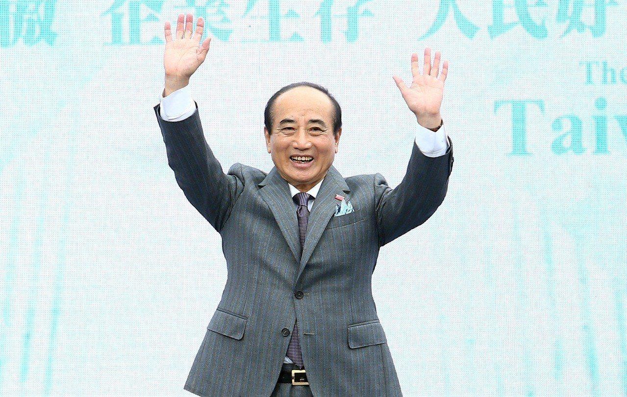 國民黨立委王金平昨天(7日)上午在台北國際會議中心頂樓舉行記者會發表參選宣言,正...