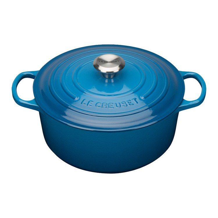Yahoo奇摩購物中心推出LE CREUSET鑄鐵鍋、碗盤結帳再83折。圖/Ya...