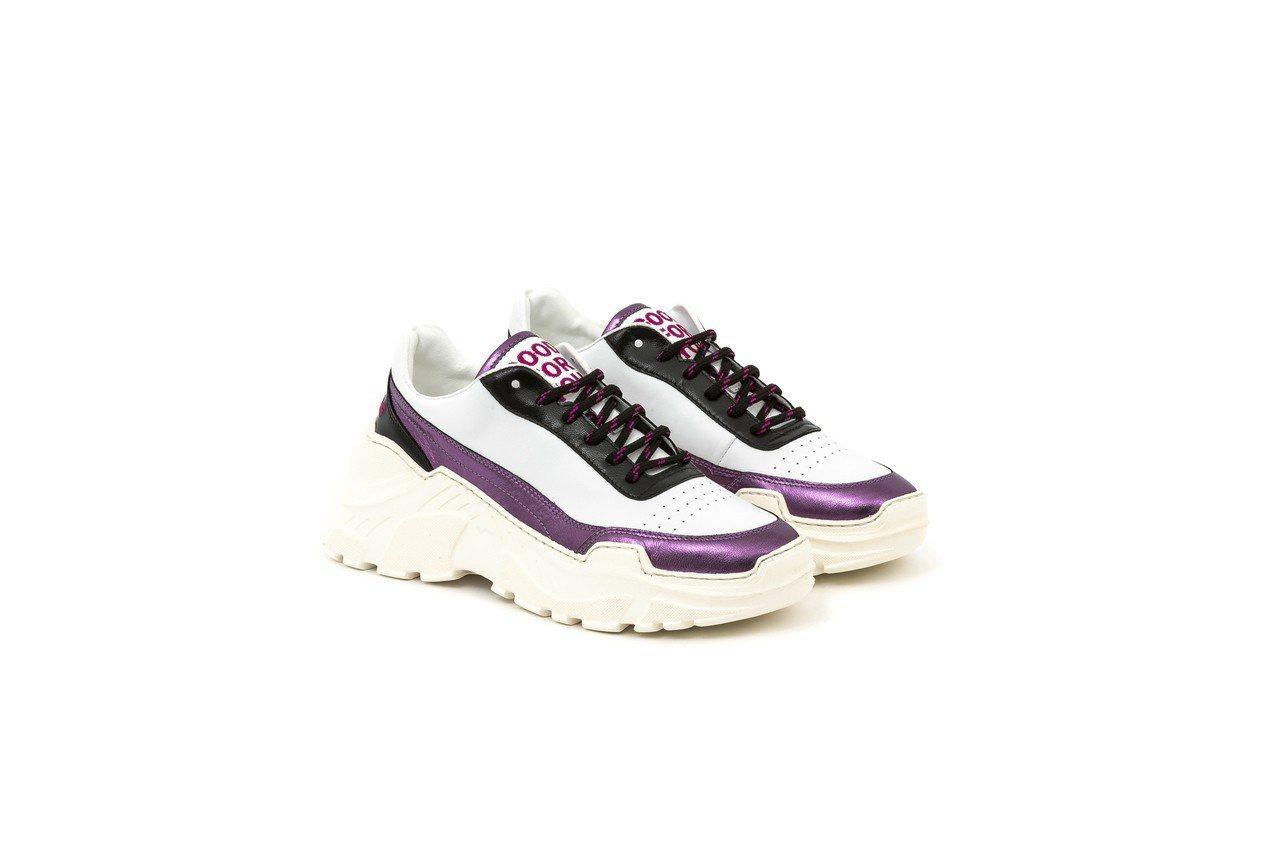 Ireneisgood x Joshuas 聯名系列鞋紫色款,14,980元,全...