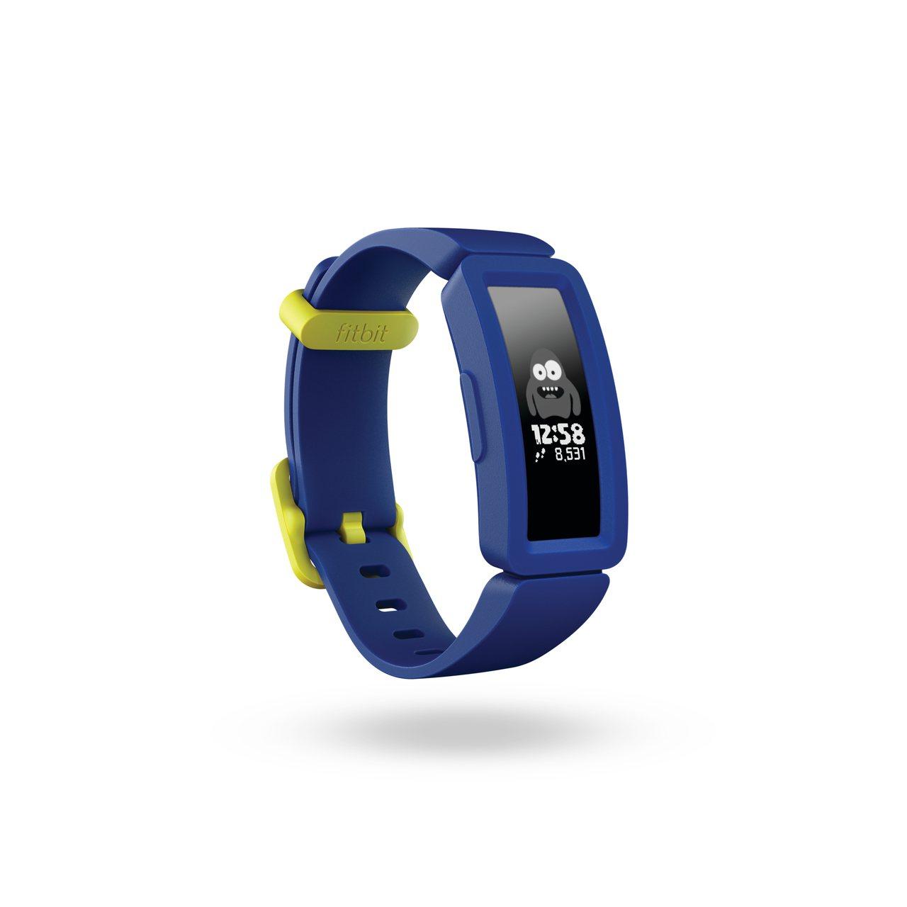 除了繽紛色彩、螢幕緩衝保護裝置,Ace 2還有可客製化的表面。圖/Fitbit提...
