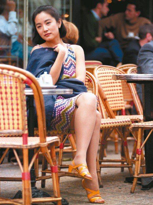 林青霞曾是許多女孩的典範。 圖/聯合報系資料照片