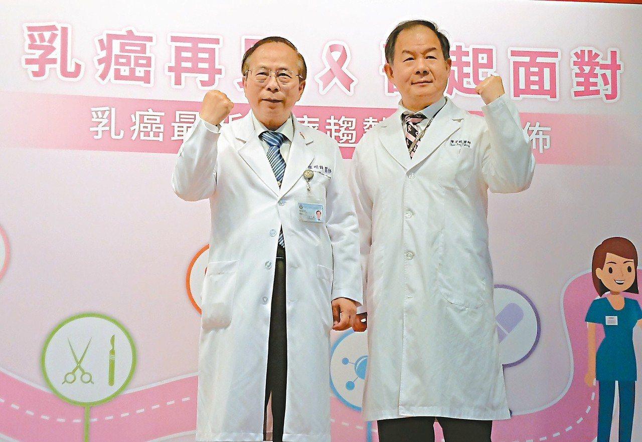 高醫發表乳癌晚期患者治療態度與生活品質調查,發現有1成會因治療副作用放棄、尋求非...