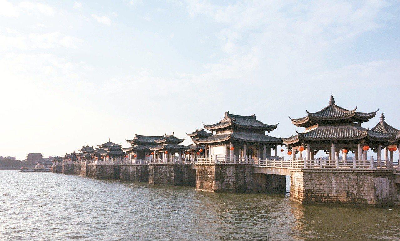 湘子橋名列中國四大名橋。(圖/本報資料照片)