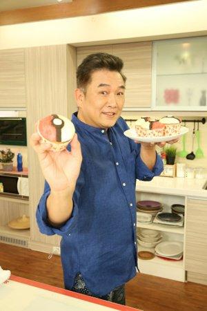 焦志方做甜點。記者陳立凱/攝影