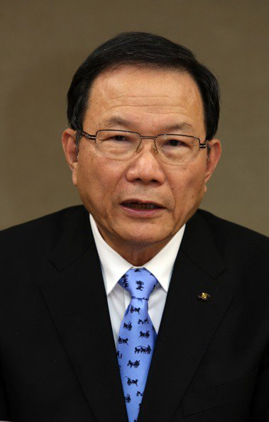 台塑董事長林健男 (聯合報系資料庫)