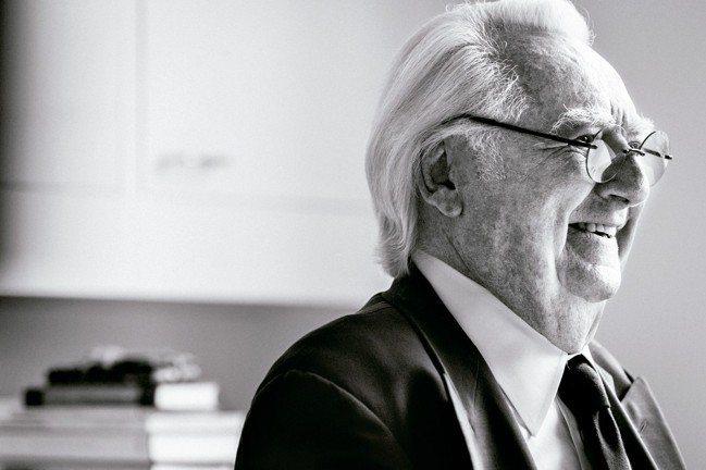 紐約白派大師Richard Meier。 圖/陳立凱攝影、大陸建設提供
