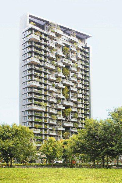 生態住宅「若山Ⅱ」外觀 。 圖/陳立凱攝影、半畝塘提供