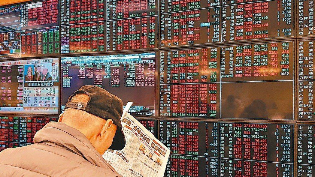 緯創、華通等股價低於50元、低本益比、低淨值比 將成領漲先鋒。 本報系資料庫