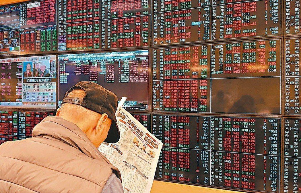 國際情勢好轉,台股金豬年表現強強滾。 本報系資料庫