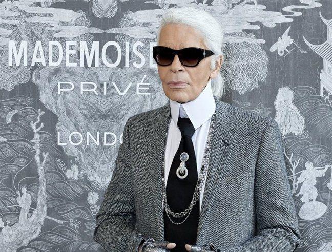 Chanel、FENDI創意總監卡爾拉格斐(Karl Lagerfeld)。 圖...