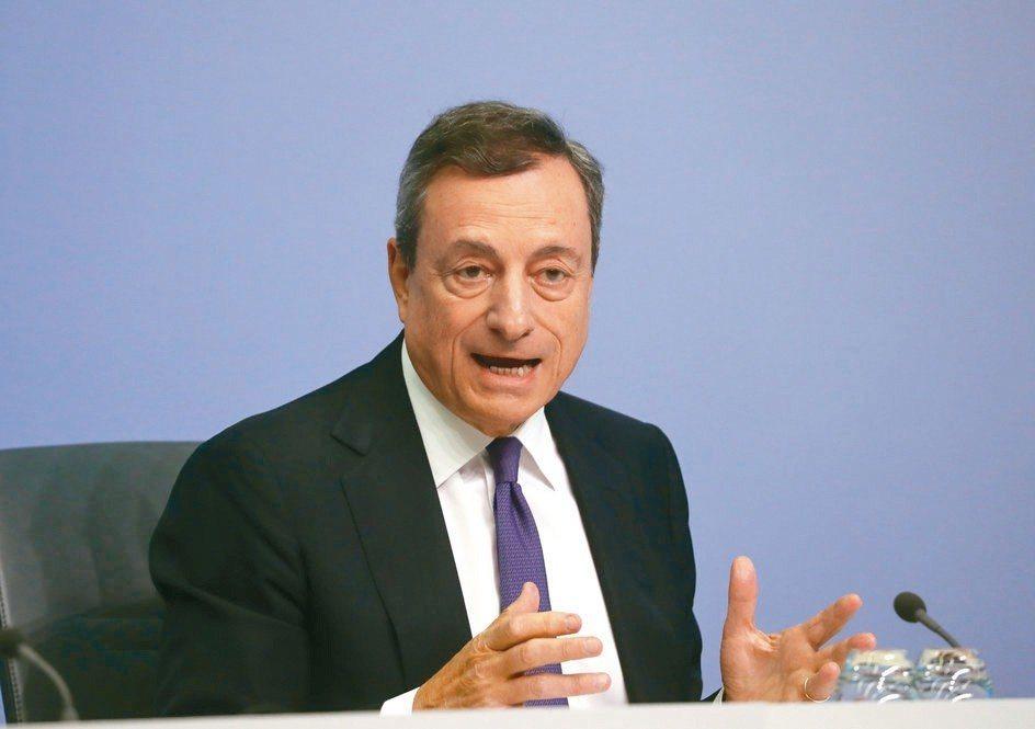 ECB總裁德拉基 路透社/提供