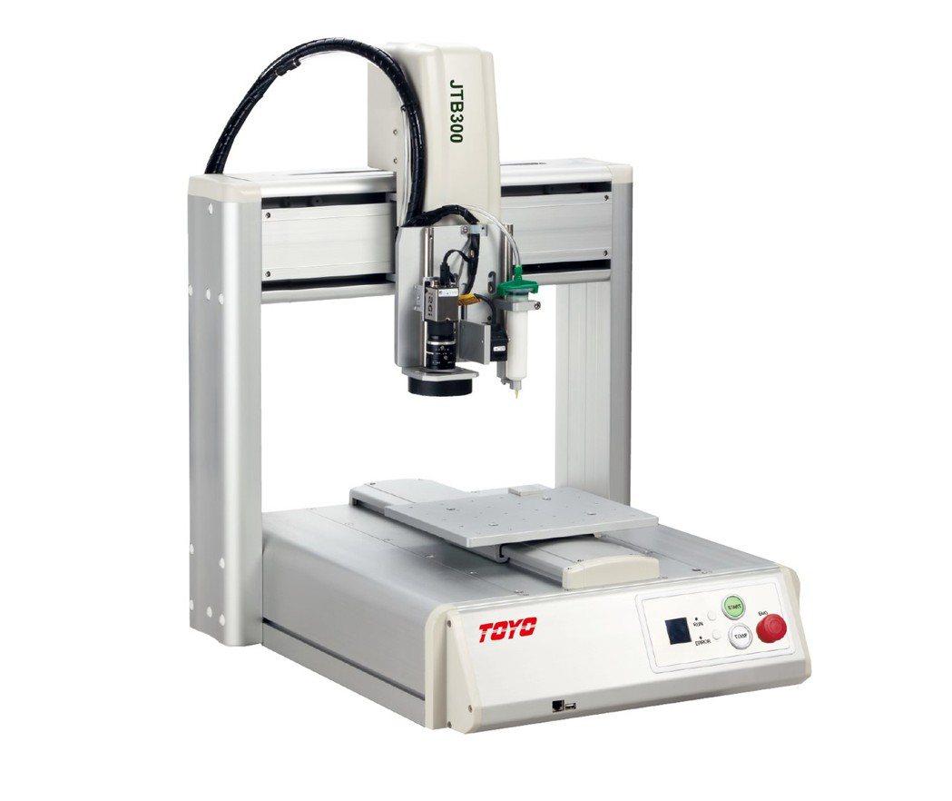 多功能桌上型機械手「JTB Series」2019年度販售台數目標上看100台。...