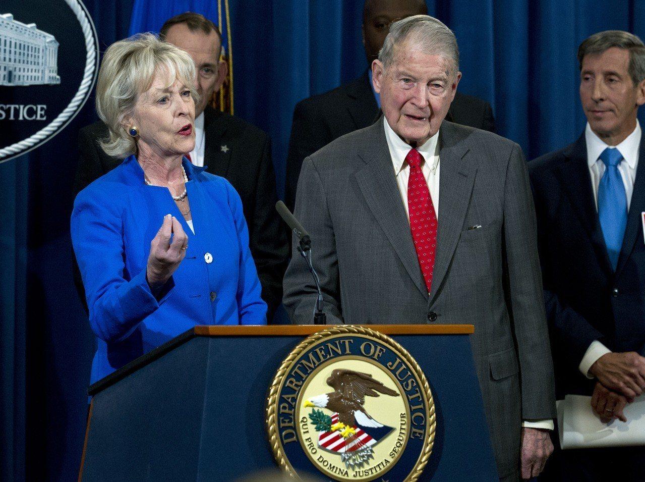 司法部長巴維理對老人詐騙全面宣戰。 美聯社