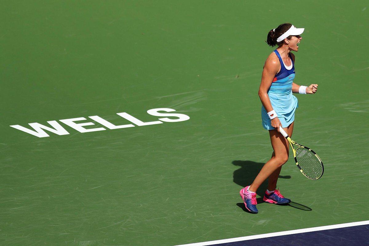 謝淑薇出征印地安泉賽事。 擷圖自British Tennis推特