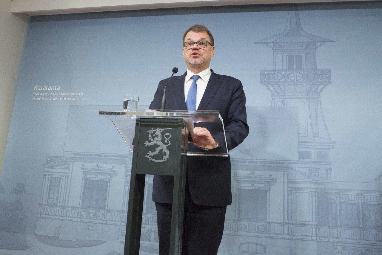 芬蘭總統尼尼斯托(Sauli Niinisto)。 歐新社