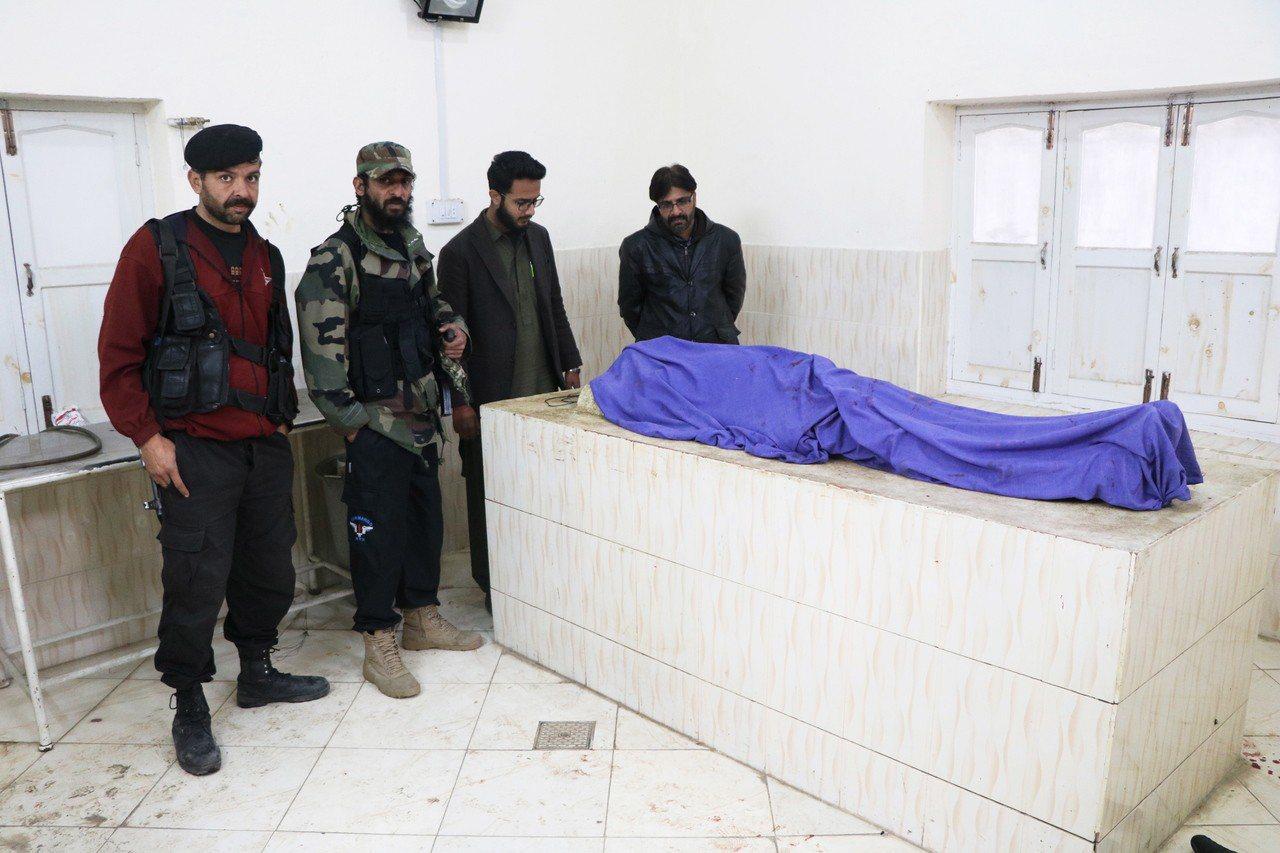 31歲的阿夫薩(Mohammed Afzal)遭槍殺。 歐新社