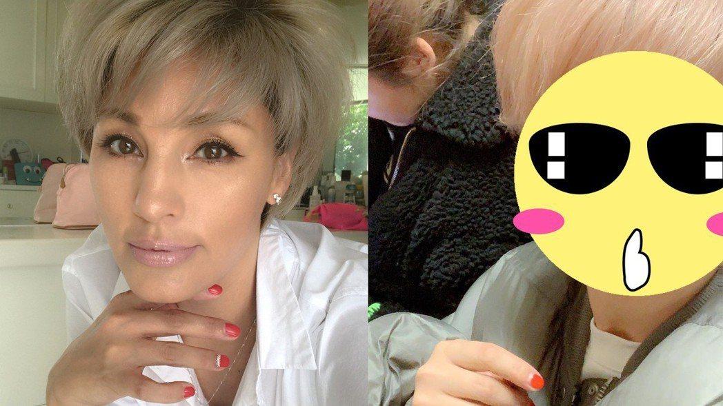 梅宮安娜透露自己因照顧生病的家人們,壓力太大暴肥。圖/擷自instagram。