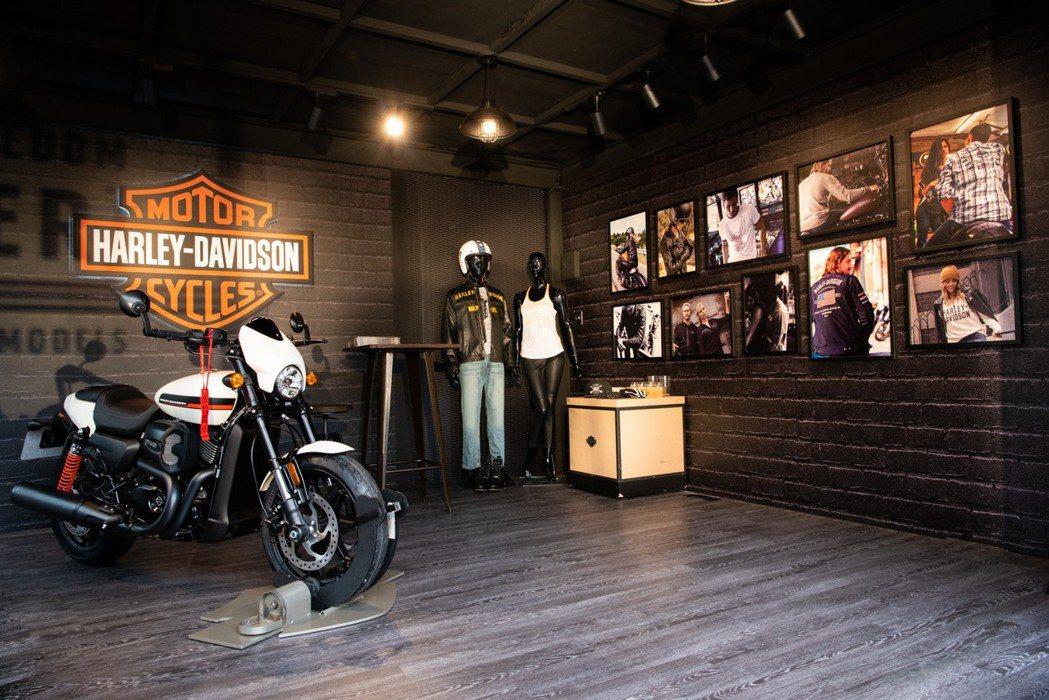 哈雷品牌快閃概念店 圖/Harley-Davidson提供